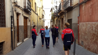 Linne on tour in Caravaca. Credit: Albin Ridefelt