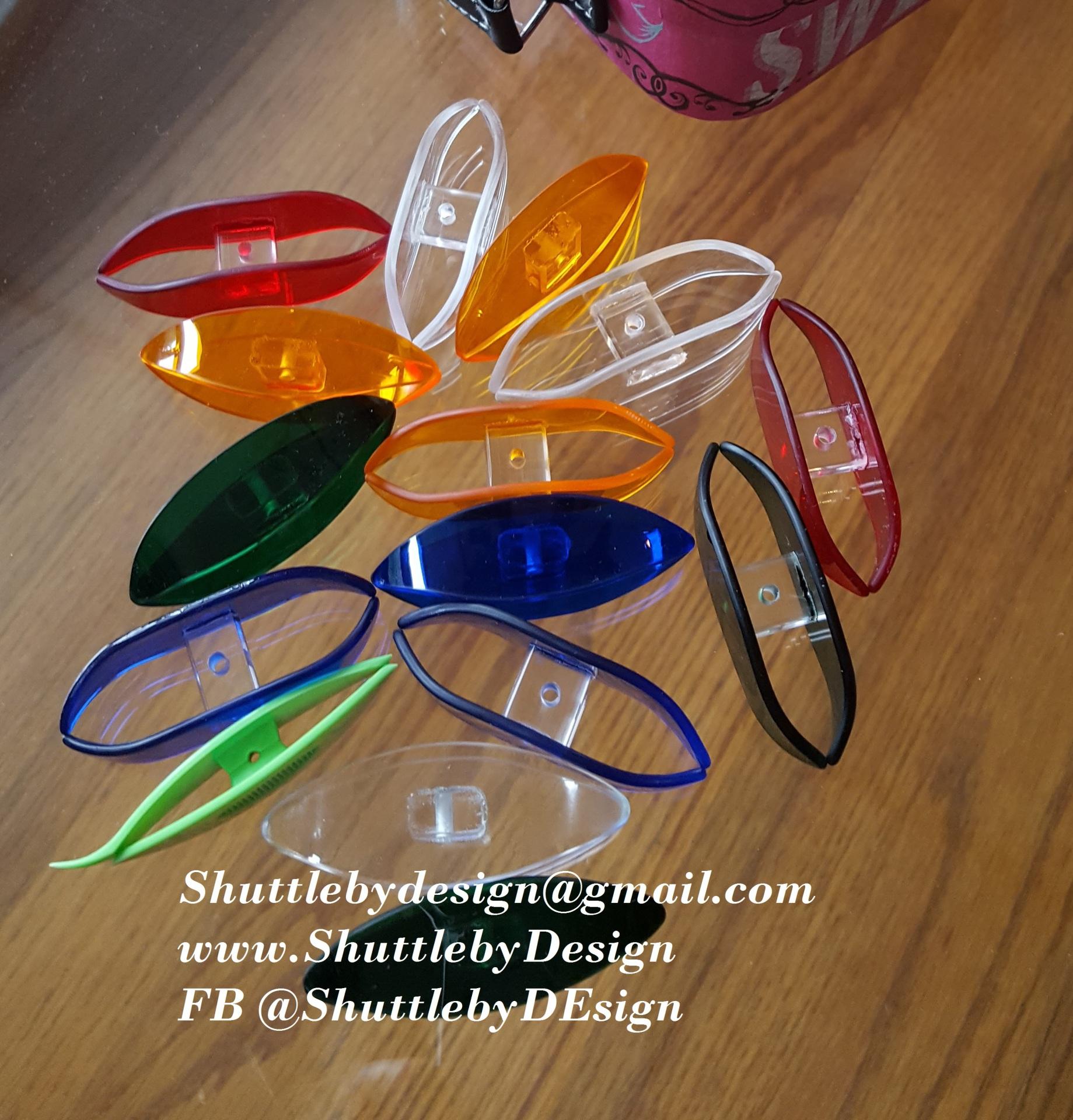 Plexiglass  shuttles