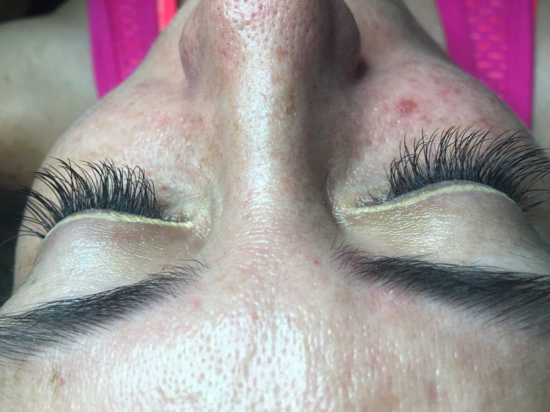 Mink Lashes Added For Length and Fullness