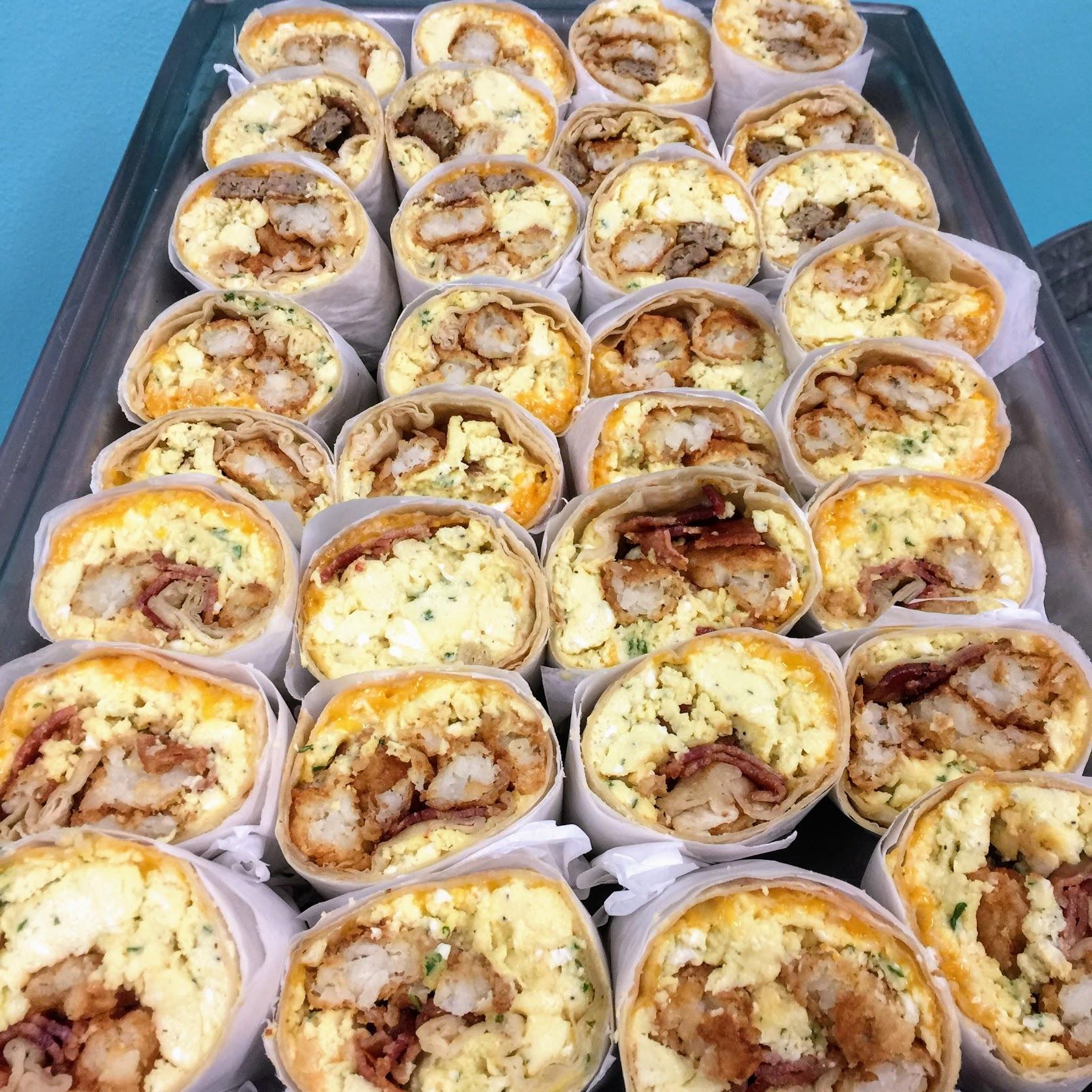Breakfast Burrito Variety