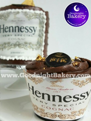 Hennessy Cake and Cupcakes