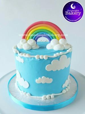 Signature Line: Rainbow Cake
