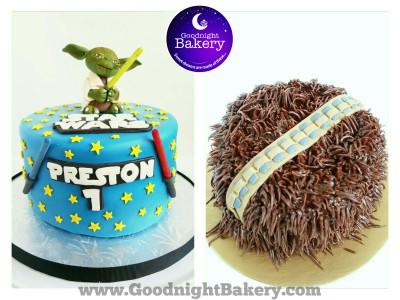 Star Wars Cake and Smash Cake