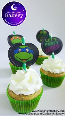 TMNT: Cupcakes