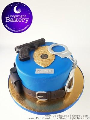 Police Detective Cake