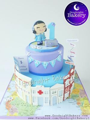 PlayStreet Travel Cake