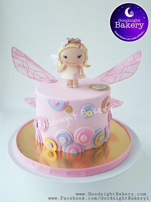 Little Girl Fairy Cake
