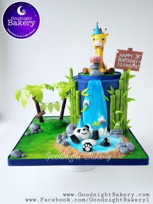 Panda and Giraffe 1st Birthday