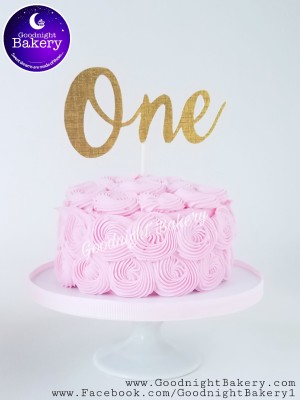 "4"" Smash Cake"