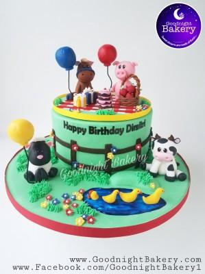 Farm Animal Birthday Picnic