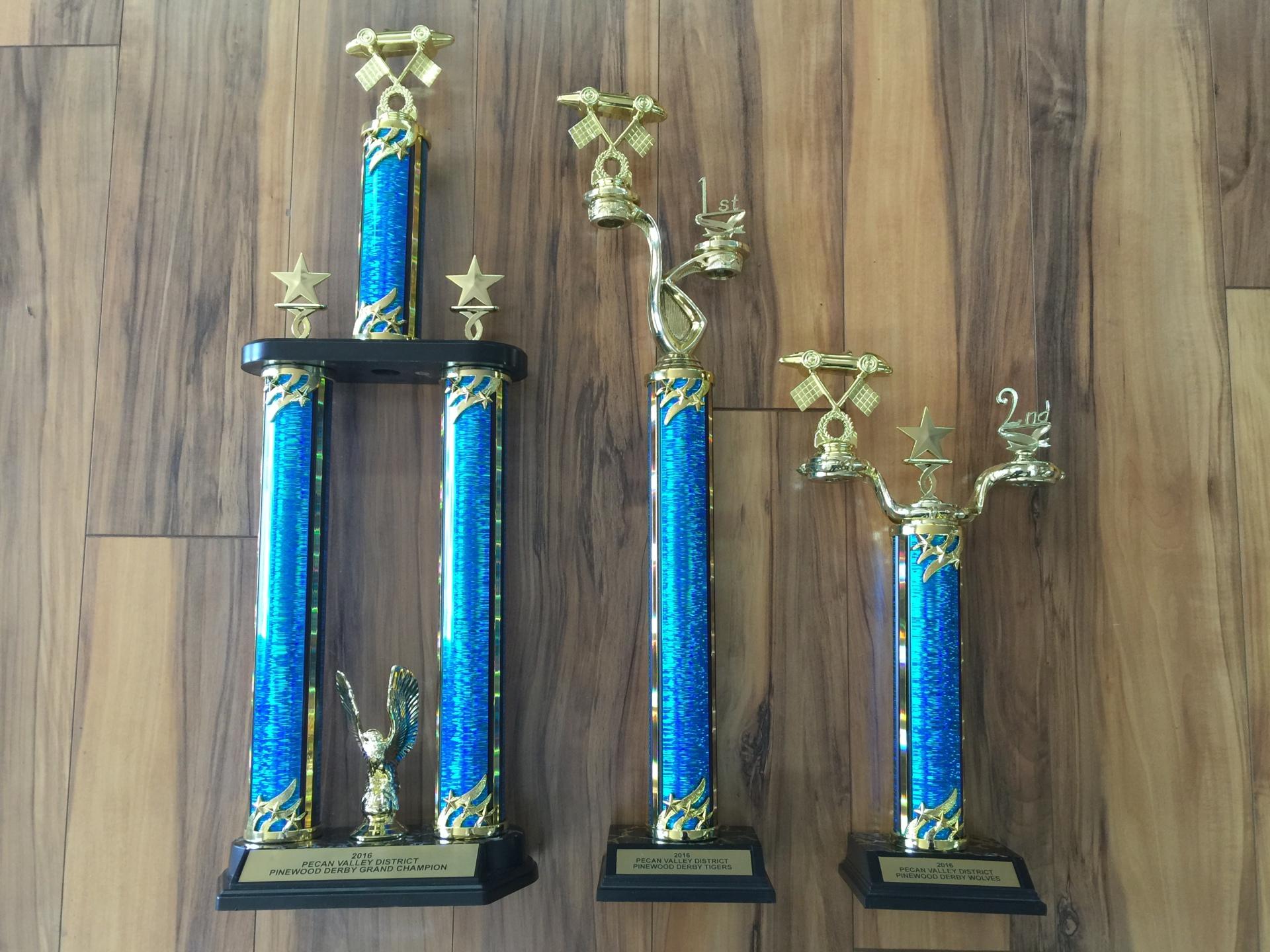 Derby Trophies