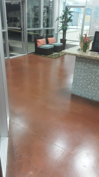 concrete Staining; Concrete Sealer