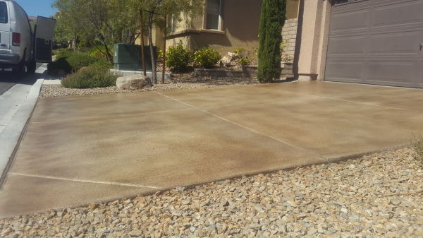 concrete cleaning; concrete staining; concrete sealing; pressure washing