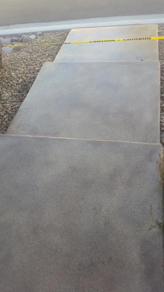 concrete cleaning; concrete staining; concrete sealing