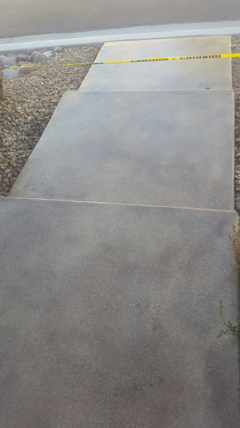 concrete cleaning; concrete staining; concrete sealing
