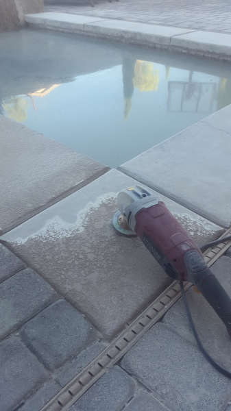 concrete cleaning; pressure washing
