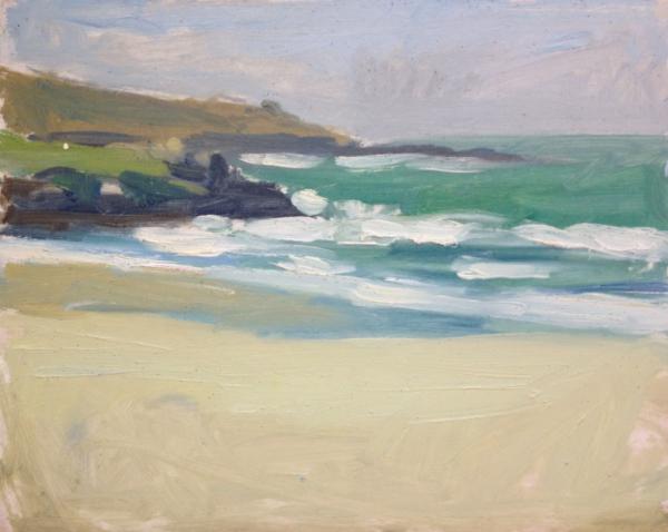 Porthmoer Beach, St Ives, Cornwall