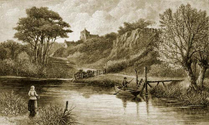 The Arun at Burpham 18th Century