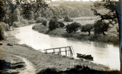 The River at Burpham 1946