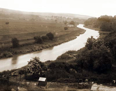 The Arun at Burpham 1920