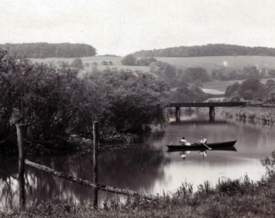 Rowing on the Arun 1920's