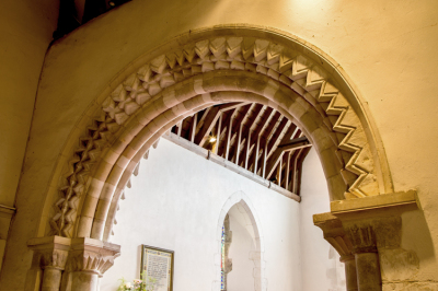 South Transept Arch