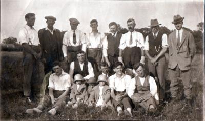 Burpham Cricket Club 1935
