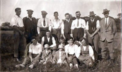 Burpham Cricket Club 1935