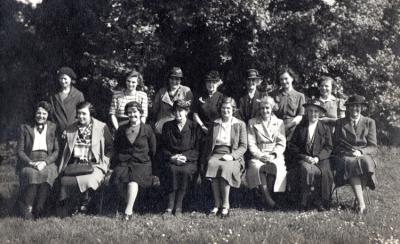 Burpham Womens Institute 1945