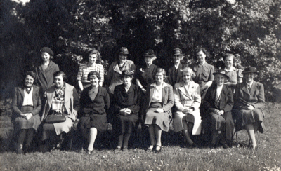 Burpham Womens Institute 1945