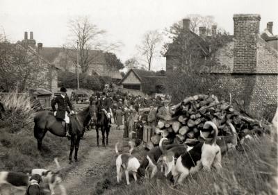 The Burpham Hunt 1936