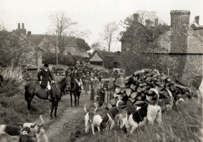 The Burpham Hunt 1936