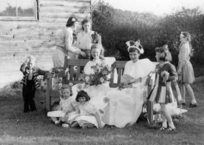 Burpham May Queen 1957
