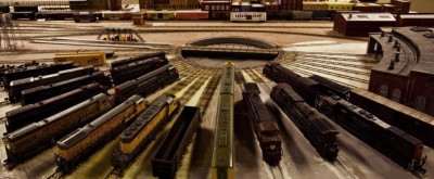 Model Trains, Owosso, Mi, Model Railroading