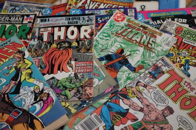 DC, Marvel, Comic Books, Owosso, MI