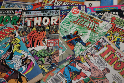 DC, Marvel, Comic Books, Owosso, MI