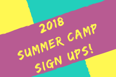 2018 SUMMER CAMPS