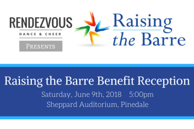 Raising the Barre Benefit Reception