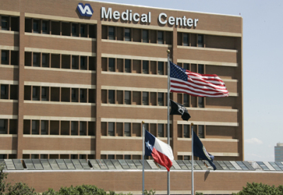 One of the Veterans hospitals we serve.