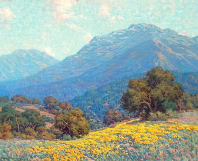 "alt=""Granville Redmond California Poppies"""