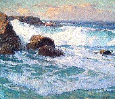 "alt=""Edgar Payne Laguna Surf"""