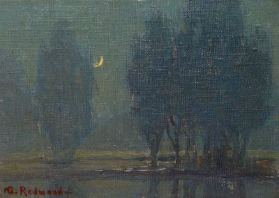 "alt=""Granville Redmond Moonlight"""