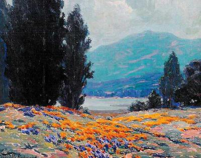 "alt=""Granville Redmond California Poppies"""