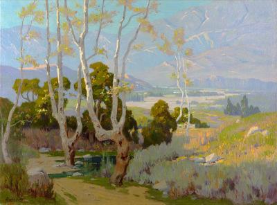 Elmer Wachtel painting
