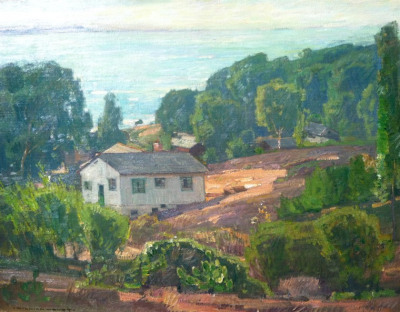 "alt=""William Wendt Laguna Beach"""