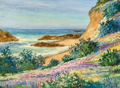 early california art, fine art, steven stern fine art, edgar payne, guy rose, joann cromwell