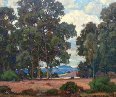 "alt=""William Wendt Before the Rain"""