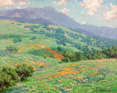 "alt=""Granville Redmond California Poppies, Spring"""
