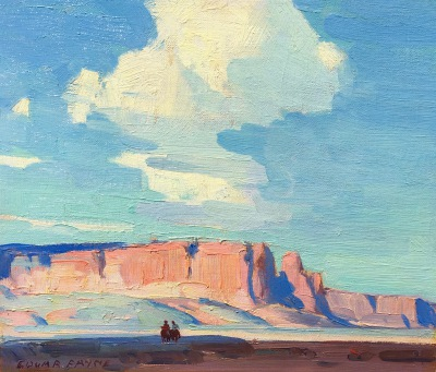 "Edgar Payne ""Arizona Clouds"""