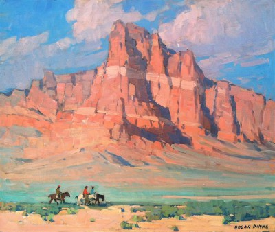 "Edgar Payne ""Striped Mesa"""